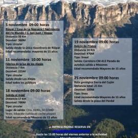 ¡RUTAS! Parque Natural de Los Calares del Mundo y de La Sima